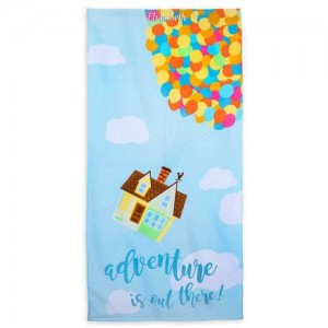 Up Beach Towel - Personalizable