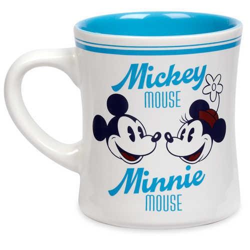 디즈니 Mickey and Minnie Mouse Diner Mug
