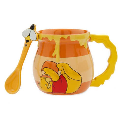 디즈니 Winnie the Pooh Mug and Spoon Set