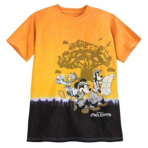 Mickey Mouse and Friends Tie-Dye T-Shirt for Kids - Disneys Animal Kingdom