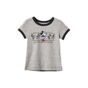 Minnie Mouse Ringer T-Shirt for Girls - Walt Disney Studios