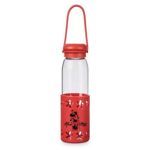 디즈니 Minnie Mouse Glass Water Bottle