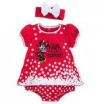 Minnie Mouse Bodysuit Set for Baby - Walt Disney World