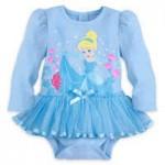 Cinderella Cuddly Bodysuit for Baby