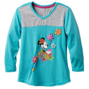 Minnie Mouse Long Sleeve T-Shirt for Girls - Aulani, A Disney Resort & Spa