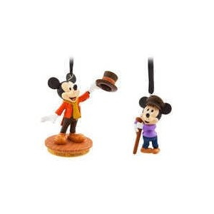 Mickey Mouse Through the Years Sketchbook Ornament Set - Mickeys Christmas Carol - September - Limited Release