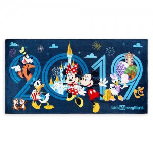 Mickey Mouse and Friends Beach Towel - Walt Disney World 2019