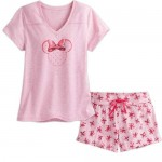 Minnie Mouse Short Sleep Set for Women - Pink