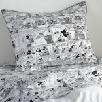 Mickey Mouse Comic Strip Sham by Ethan Allen