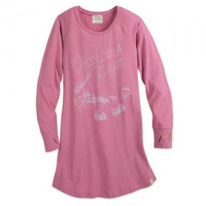 Sleeping Beauty Long Sleeve Nightshirt for Women by Munki Munki