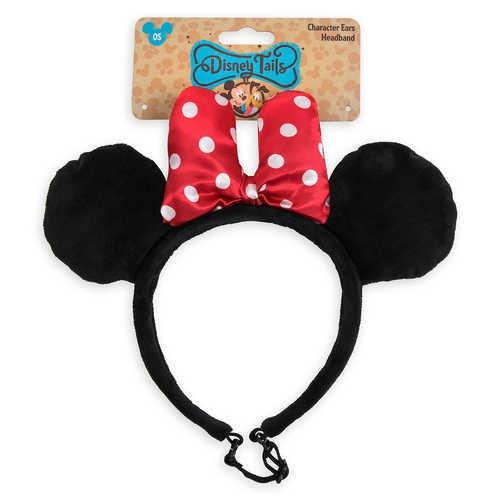 디즈니 Minnie Mouse Ear Headband for Dogs