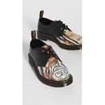 x Basquiat 1461 3 Eye Derby Shoes