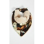Horses Quilted Baby Cord Bandana