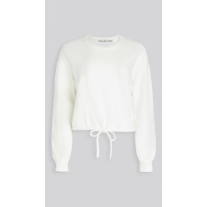 Bernetta Crop Pullover with Drawstring