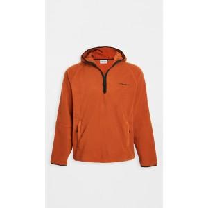 Hooded Beaumont Half Zip Sweatshirt
