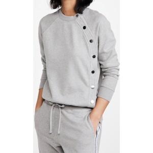 Liana Sweatshirt with Snaps