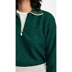 Curly Sherpa 1/2 Zip Pullover