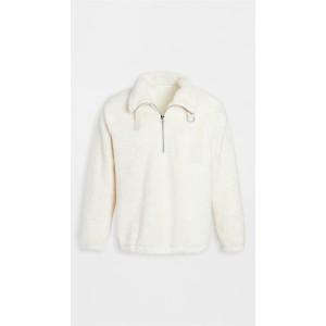 Shaggy Fleece Quarter Zip Sweatshirt