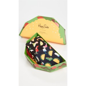 2 Pack Taco Socks Gift Set
