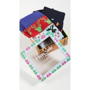 Fair Isle Socks Gift Set