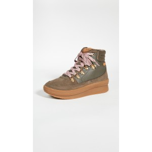 Midland Waxed Canvas Sneaker Boots