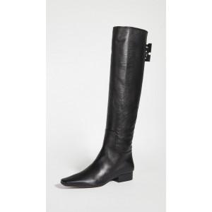 Nappa High Boots
