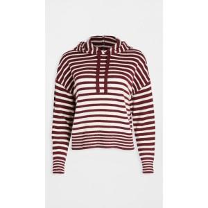 Pierce Cashmere Striped Hoodie