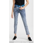 Mid Rise Skinny Boyfriend Jeans