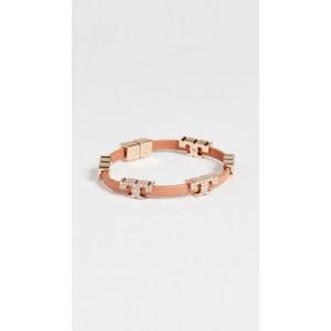 Serif-T Stackable Pave Bracelet