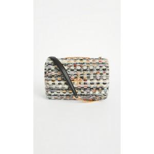 Kira Tweed Small Convertible Shoulder Bag