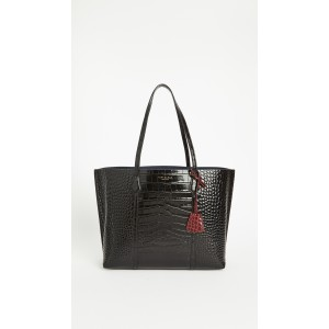 Perry Embossed Triple-compartment Tote