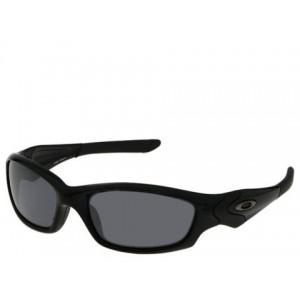 Straight Jacket Polished Black/Black Iridium Lens