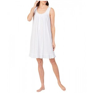 Modal Spandex Knit Sleeveless Short Nightgown