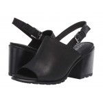 Nadia Slingback Black Full Grain Leather