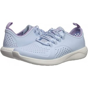 Crocs Kids LiteRide Pacer (Toddleru002FLittle Kidu002FBig Kid) Mineral Blue/White