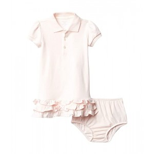 Ruffled Polo Dress & Bloomer (Infant)