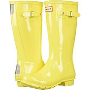 Original Kids Gloss Rain Boot (Little Kid/Big Kid) Wader Yellow