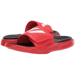 adidas Alphabounce Basketball Slides Active Red/Footwear White/Core Black