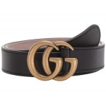 Childrens Leather Double G Belt (Little Kids/Big Kids)