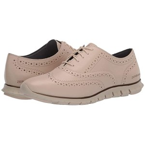 Cole Haan Zerogrand Wing Oxford Closed Hole Brazilian Sand Leather/Ivory