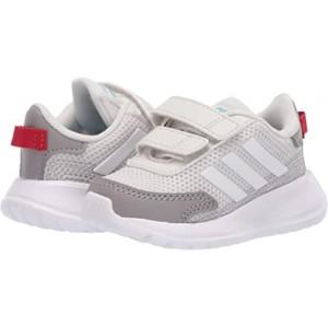 adidas Kids Tensaur Run (Infantu002FToddler) Orbit Grey/White/Dove Grey