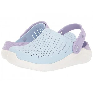 LiteRide Clog (Little Kid/Big Kid) Mineral Blue/White