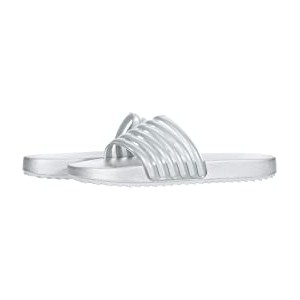 Shylo Slide (Little Kid/Big Kid) Sliver Metallic Molded