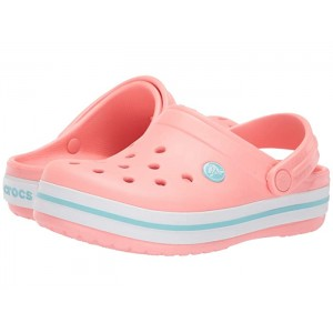 Crocband Clog (Toddler/Little Kid) Melon/Ice Blue