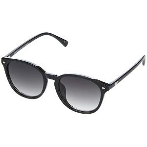 Le Specs Bandwidth Alt Fit Black/Grey Tortoise/Smoke Gradient