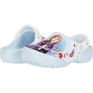 Crocs Kids Fun Lab Disney Frozen 2 Clog (Toddleru002FLittle Kid) Mineral Blue