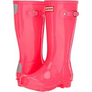 Original Kids Gloss Rain Boot (Little Kid/Big Kid) Hyper Pink