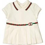 Stretch Cotton Pique Dress (Infant)