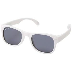 White Flexible Sunglasses (Toddler)