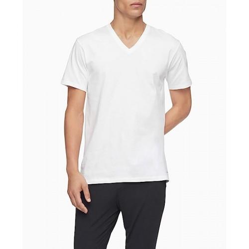 켈빈클라인 Cotton Classics Multipack Short Sleeve V-Neck